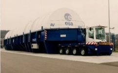 ESA Ariane 5 Containerized Transporter