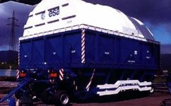 Ariane Second Stage Container Carrier